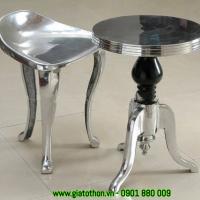 bàn ghế nhôm đúc bền