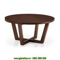 bàn ghế gỗ phòng khách nhỏ
