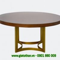bàn ghế gỗ phòng ăntròn