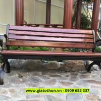 băng ghế gỗ công viên