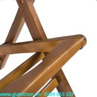 Bàn ghế gỗ đôi cao cấp
