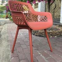 Bàn ghế nhựa đỏ