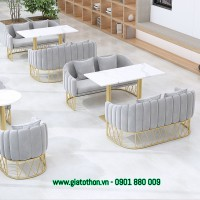 ghế sofa khung inox