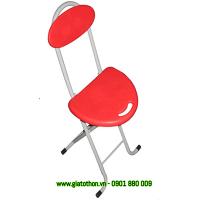 ghế xếp nhựa chân inox