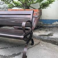 ghế công viên nhôm đúc ngoài trời