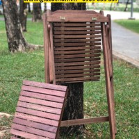 chất gỗ ghế gỗ ngoài trời dạng võng