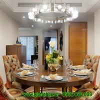 bàn ghế gỗ phòng ăn hiện đại