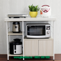 tủ bếp gỗ đẹp đơn giản