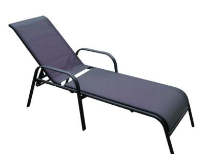 Ghế tắm nắng món đồ ngoại thất khung thép cho bể bơi cao cấp