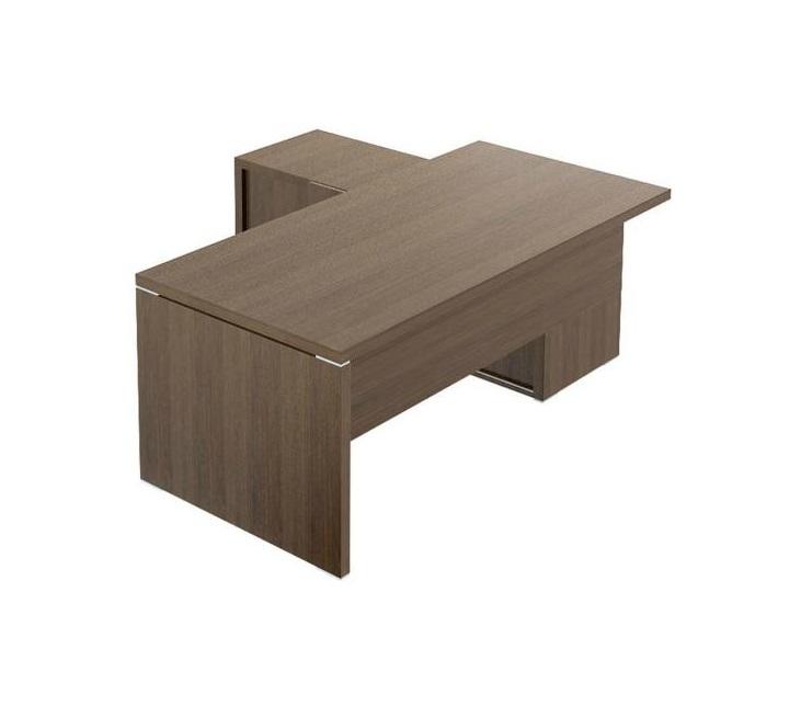 Bàn làm việc [văn phòng] gỗ hình chữ L