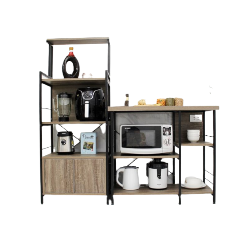 Nội thất chung cư - Kệ bếp gia đình 3 tầng giá rẻ