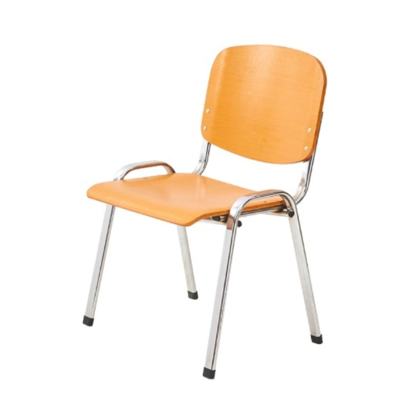 Ghế gỗ khung nhôm 01